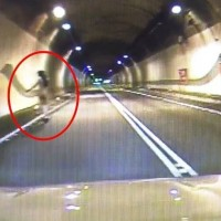 Video shows nude female 'ghost' strutting in Taiwan tunnel