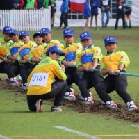Taiwan tug of war teams show strength at world championships