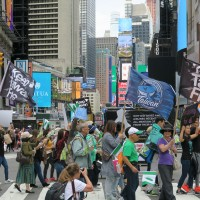 Rally to support Taiwan UN bid held in New York City