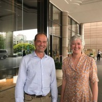 UK trade policy minister in Taiwan for talks