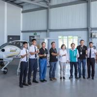 訪飛航訓練中心 蔡英文盼升級臺東航太產業