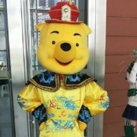 Photo of the Day: Chinese cosplayer mocks Xi with 'Winnie-the-Pooh dragon robe' outfit