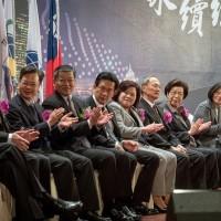 台灣經濟正在往上走!蔡總統:請台商一起看好台灣