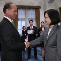 Taiwan President meets British Minister of State for Trade Policy
