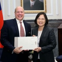 Senior U.S. APEC official visits Taiwan
