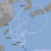 潭美颱風侵襲台灣機率不高 因為它要去這裡: