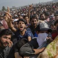 喀什米爾暴動 抗議印度政府軍殺害市民
