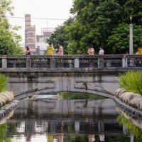 Restored waterway breathes fresh air into downtown Taichung, Taiwan