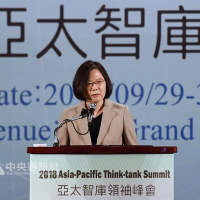 Taiwan President warns against fake news and the Chinese military threat