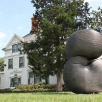 台灣雕塑家鋼雕藝術 華府雙橡園《重生》