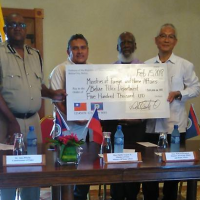 Taiwan donates to Belize Police Department to help upgrade equipment
