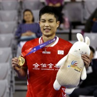 周天成壓制全場!南韓羽球公開賽成功奪冠