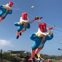 Kites take to the skies in annual kite fest on Taiwan's north coast