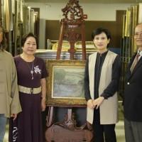美國順天美術館 慨贈600件畫作回歸台灣