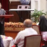 Tsai expresses gratitude for Catholic missionaries in Taiwan