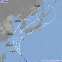 康芮颱風路徑預測更新 安倍看到都傻眼了