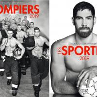 太犯規!2019法國慈善年曆 運動員秀完美身材