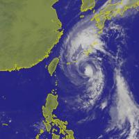 康芮颱風正不斷靠近 北台灣、沖繩小心大雨