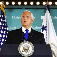 US Vice President Pence lauds Taiwan's embrace of democracy