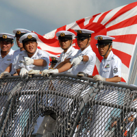 Japanese 'rising sun' flag stirs controversy ahead of naval event in S. Korea