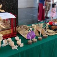 南投草屯「稻草工藝文化節」 展出巨無霸鯨魚和章魚