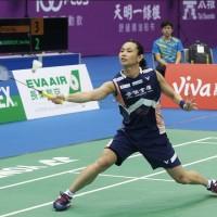 【快訊】台北羽球賽女單決賽 戴資穎逆轉勝奪冠