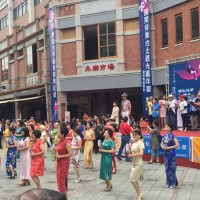 Line dance carnival revives Taipei's historical district