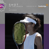 Taiwanese tennis champ Hsieh Su-Wei is WTA's Sept. 'Hot Shot of the Month'