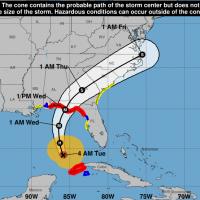 颶風邁克爾將侵佛羅里達 風速恐達到每小時180公里