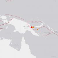 巴布亞紐幾內亞發生連環強震