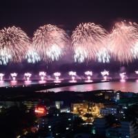 【最新】國慶焰火在花蓮港「東堤碼頭」登場 蔡總統: 代表重視花蓮及東部發展