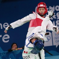 Taiwan's Lee Meng-en takes home taekwondo silver at Youth Olympics
