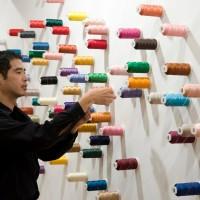 臺觀念行為藝術家 巴黎龐畢度中心發表作品