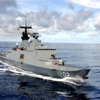 海軍承德艦士官長拷貝機密情報 女檢率憲兵登艦搜查