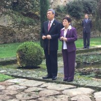 Taiwan Vice President visits Pope's summer residence at Castel Gandolfo