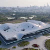 Taiwan President opens world's largest single-roof performing arts center in Kaohsiung
