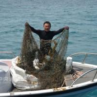推動海洋保育 澎湖3個月清除4萬公尺海底覆網