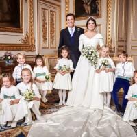 在婚禮上勇敢秀出傷疤的新娘:英國尤吉妮公主