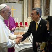 Vice President invites the Pope to visit Taiwan