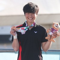 Taiwan's Lai Tzu-Hsuan wins bronze in women's kayaks solo race at Summer Youth Olympics