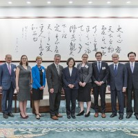 Taiwan seeks international support while defending common values: President Tsai