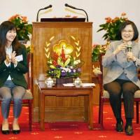 蔡英文:用經驗與技術 臺灣與世界交朋友