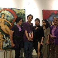 Taiwan's 'first nude model with a degree' presents 3-in-1 exhibition in Taipei