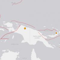 印尼巴布亞省發生淺層大地震