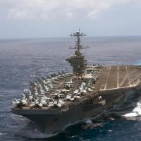 制衡中國「冰上絲路」?美國派航空母艦進入北極