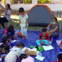 臺灣世界展望會辦分享會 越南新住民資助兒童好有愛