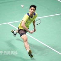Taiwan's Chou Tien-chen reaches badminton singes final in Denmark