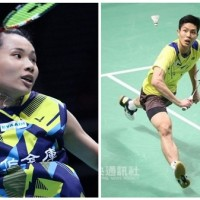 Taiwan's Tai Tzu-ying and Chou Tien-Chen take first and second places at Denmark Open finals
