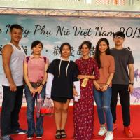 越南婦女節不38!團結女力獻花表心意 齊聚嘉義表演藝術中心