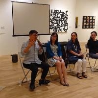 台藝術家出發星國 分享創作理念共交流